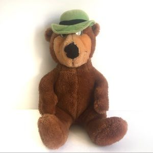 Vintage Yogi Bear 41cm Plush Stuffed Toy